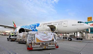 Emirates, Aid Flights, Beirut