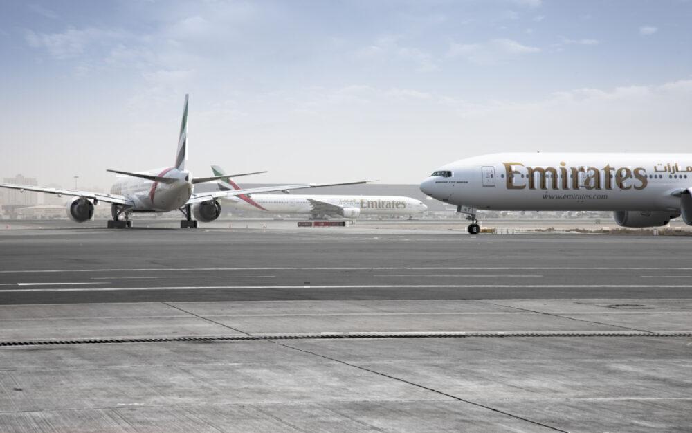 Emirates, Airbus A380, Amsterdam