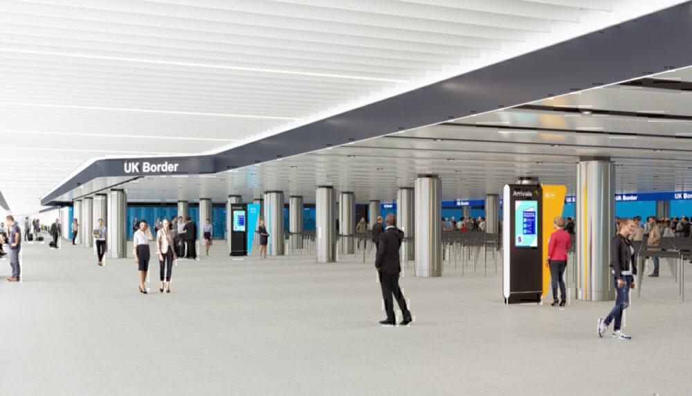 Heathrow Airport, COVID-19, Test Centre