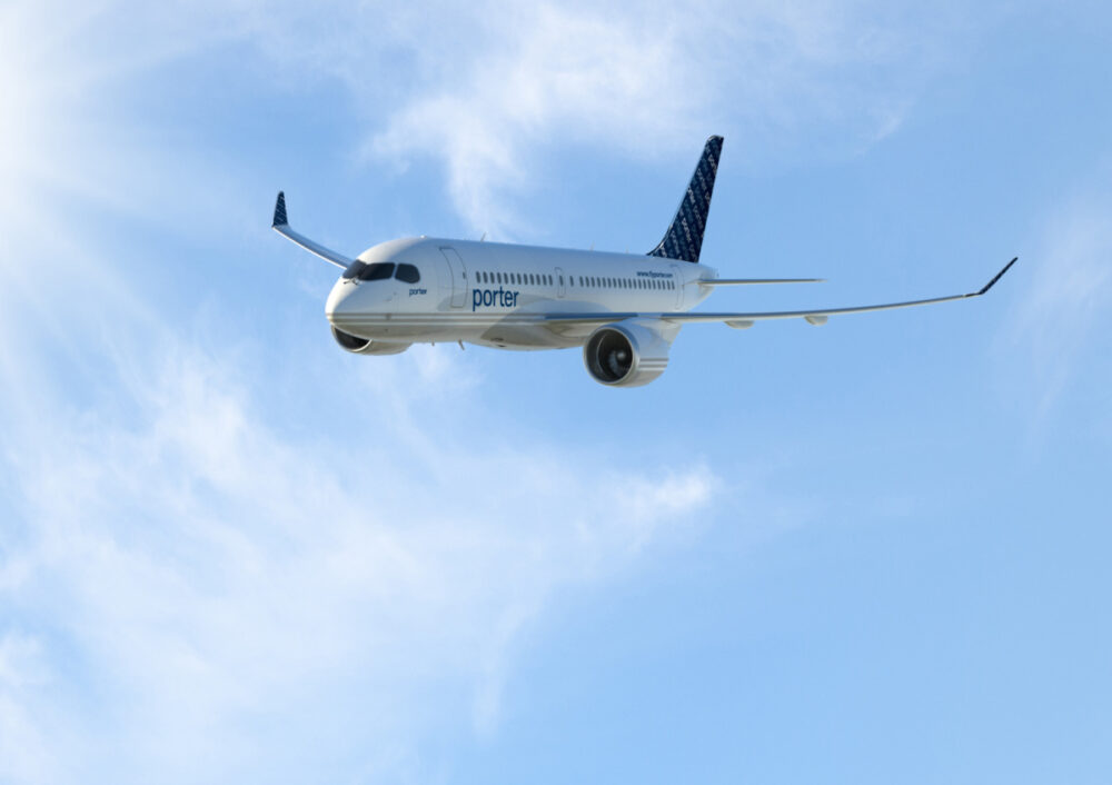 Porter Airlines CSeries