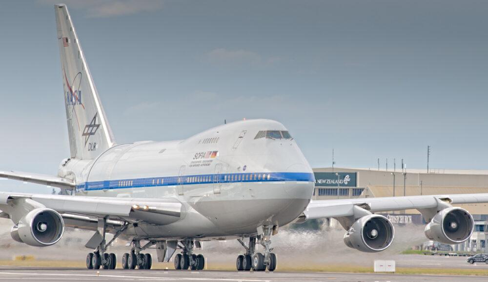 SOFIA 747SP New Zealand