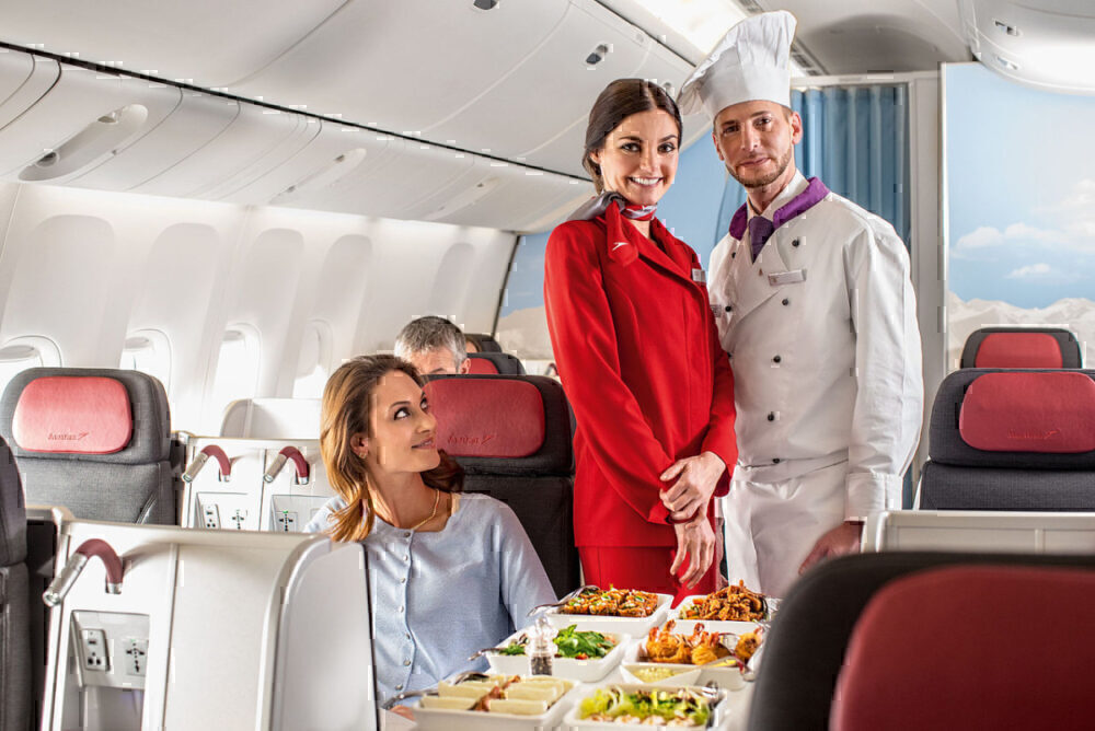 Austrian Airlines chef