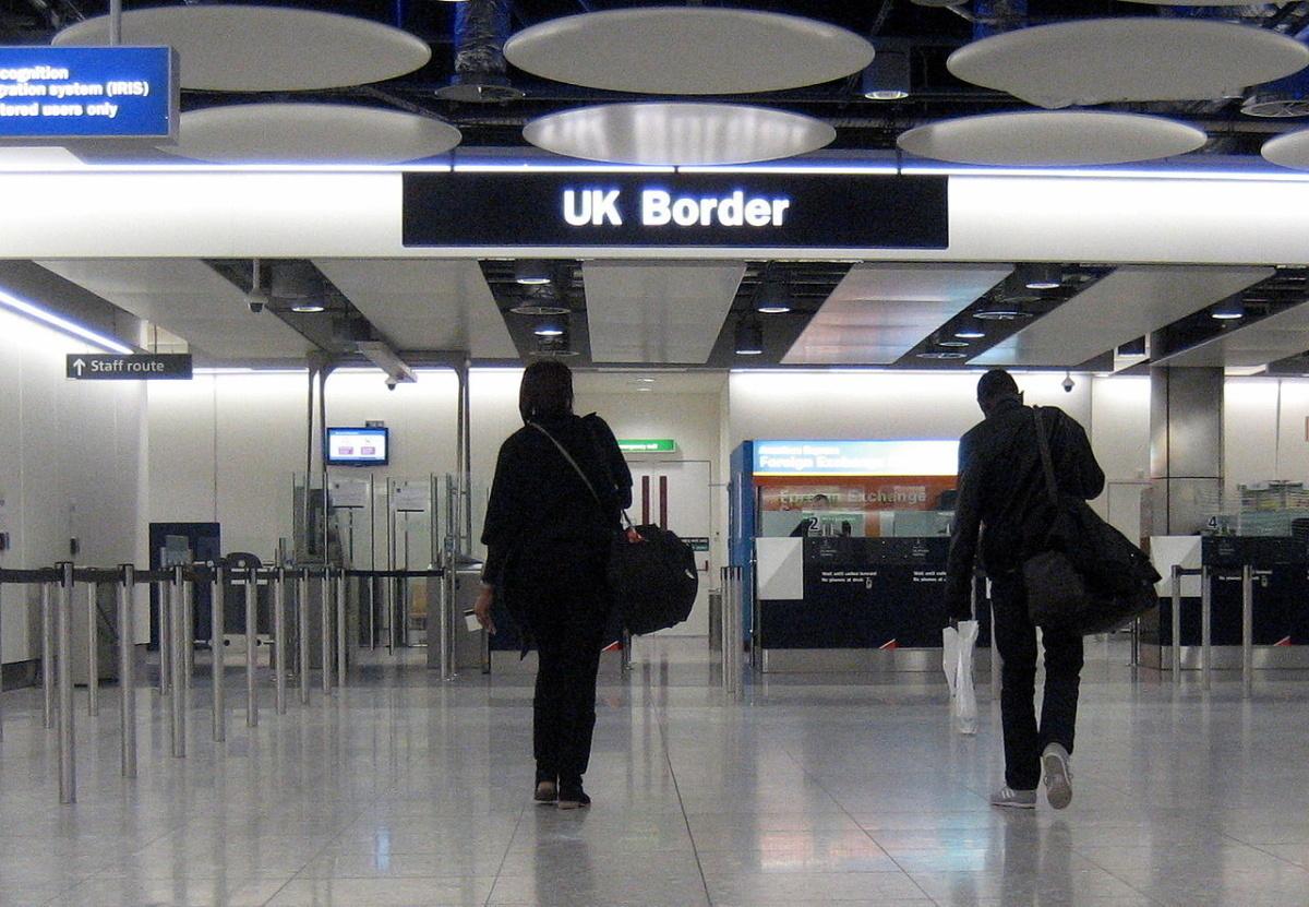 UK border check