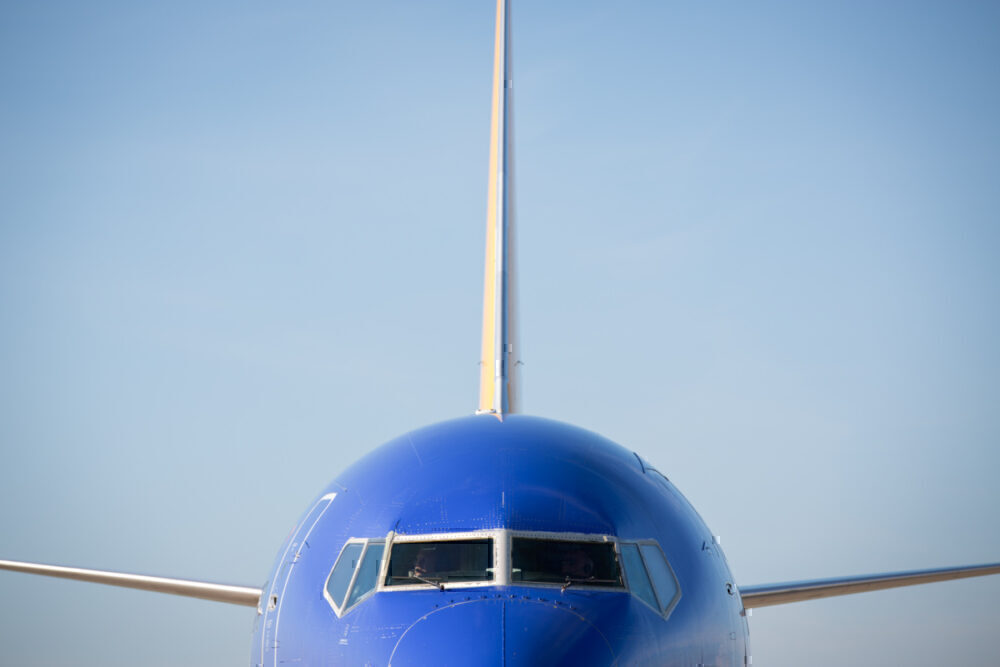 Southwest Airlines, Miami, Palm Springs