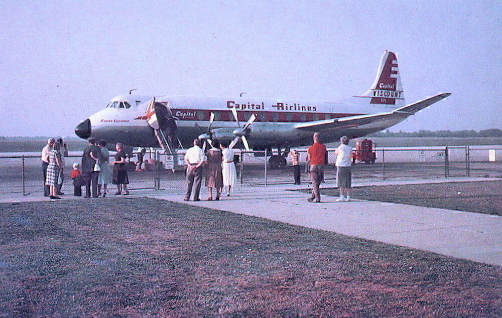Capital Airlines Viscount