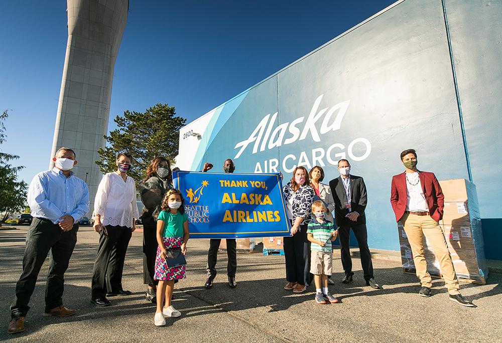 ALaska Airlines Seattle