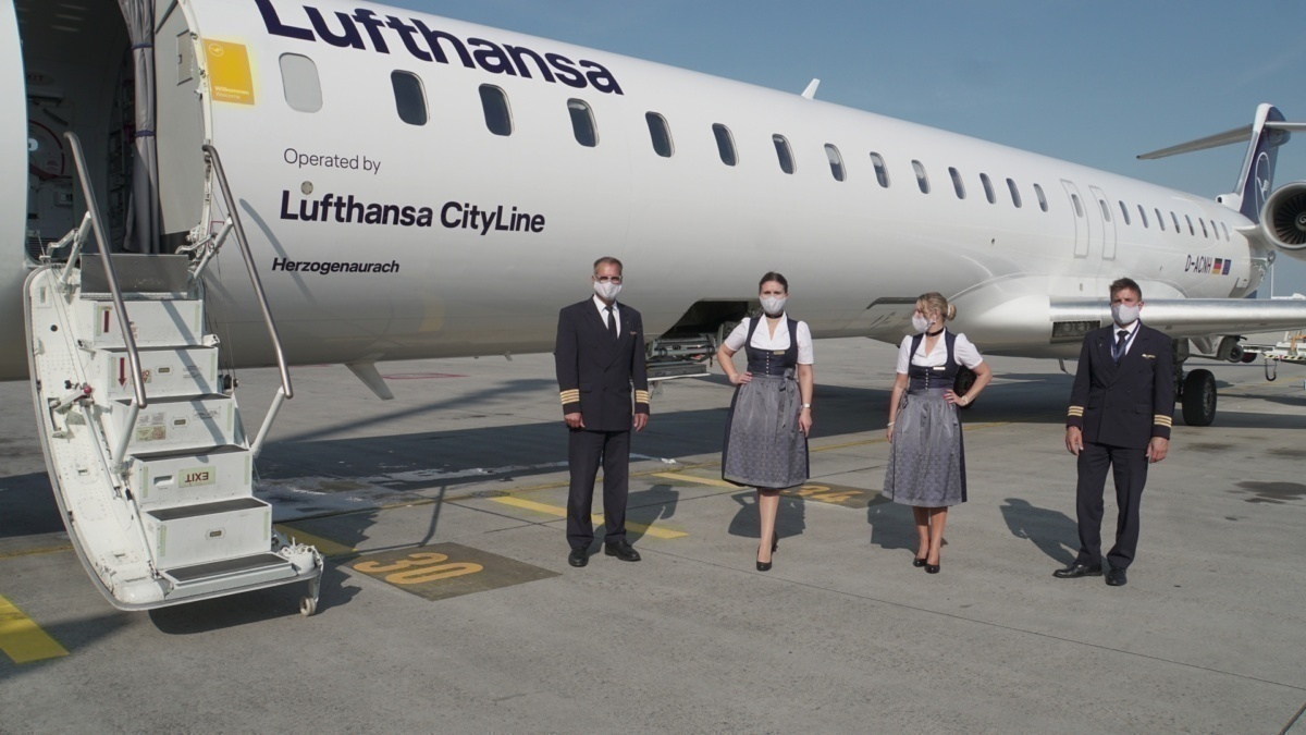 Lufthansa Operates Its Annual Oktoberfest Flights Despite COVID-19