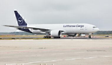 Lufthansa Cargo, Boeing 777F, Frankfurt