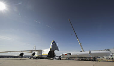 Antonov An124, London Stansted, INEOS TEAM UK