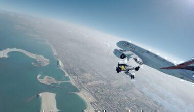 Los Angeles, Jetpack, American Airlines