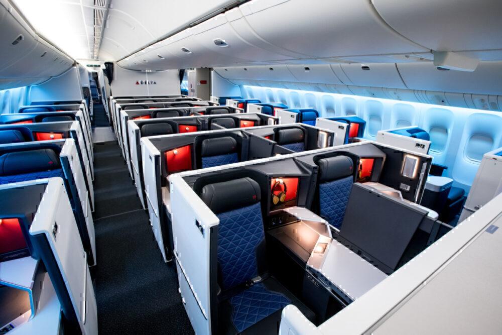 777 Delta One Suites