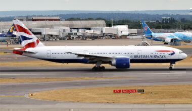 British Airways 777-200ER