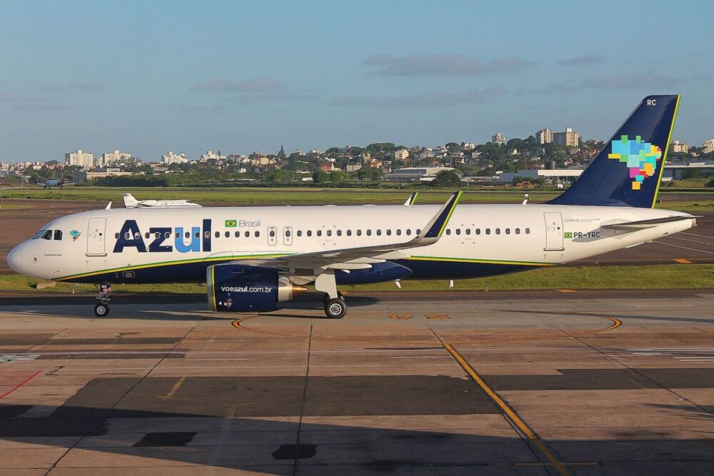 Azul Airbus A320neo Jet