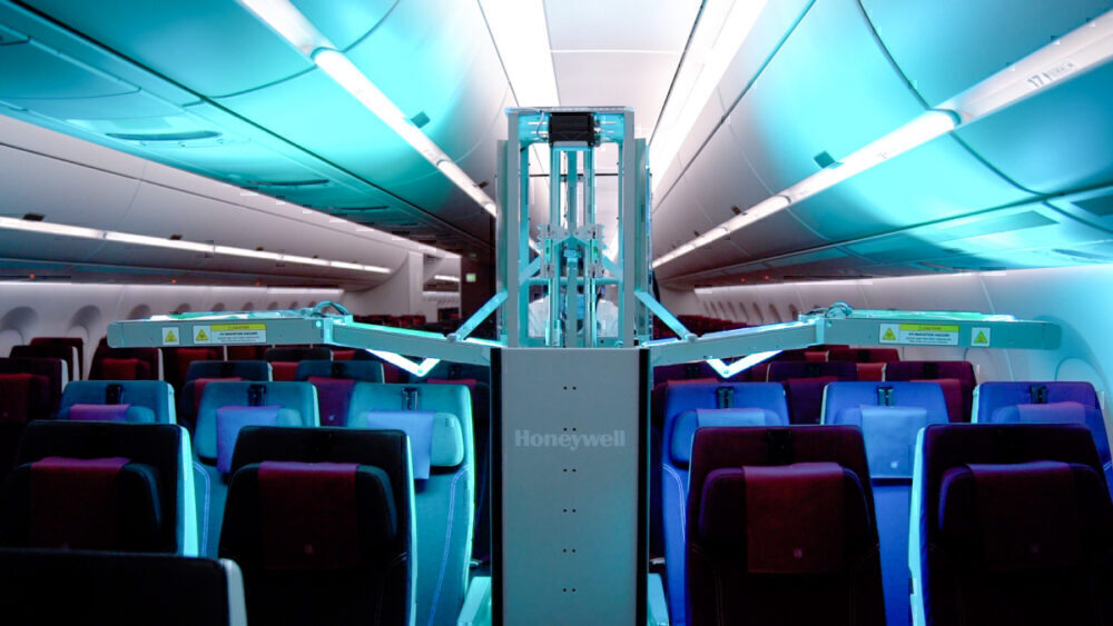 Qatar Airways, Ultraviolet Light, Cabin Sanitization