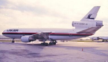 Laker Airways DC-10