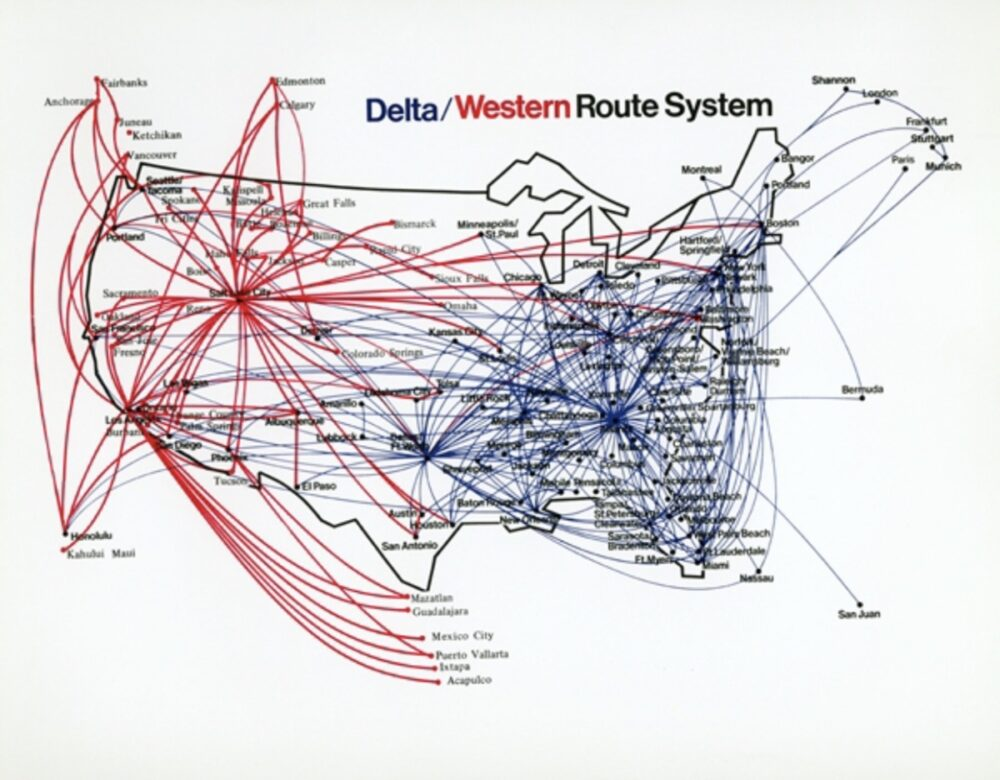 Delta and Western