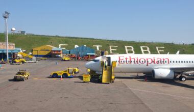 Ethiopian at Entebbe International Airport
