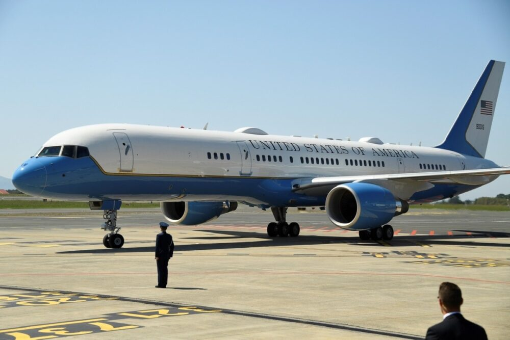 Air Force Two Boeing C-32