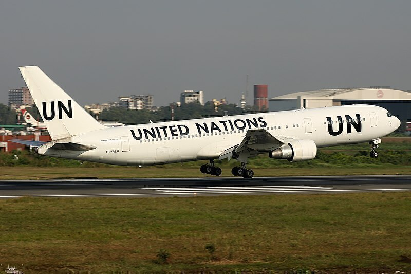 why does the United Nations own planes