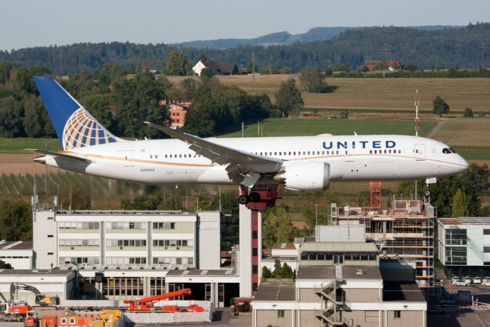 United Airlines 787-8 Dreamliner Getty
