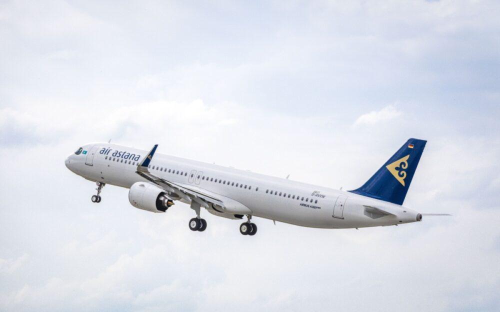 Air Astana, Airbus A321LR, Boeing 787 Order