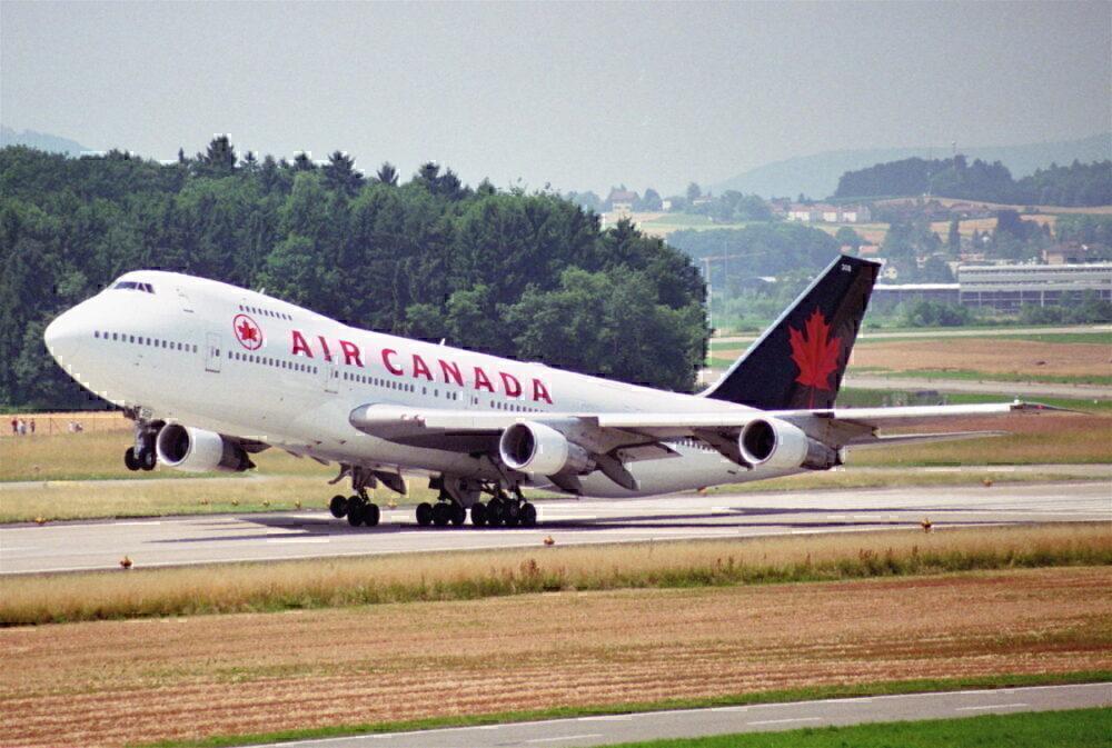air canada 747