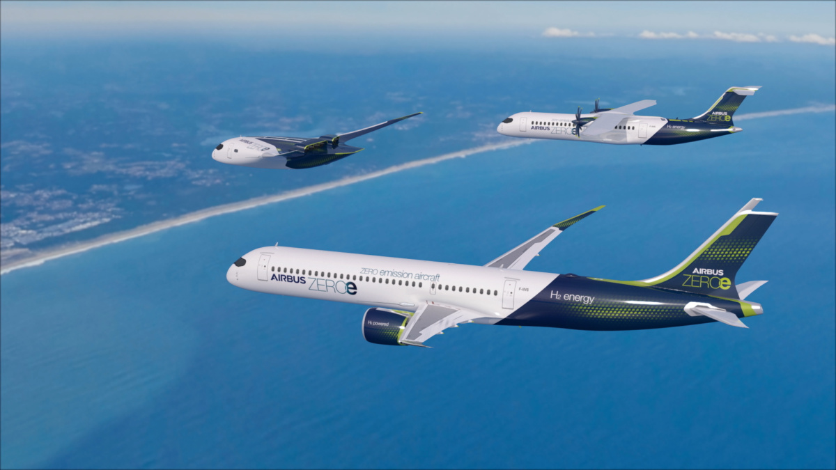 Airbus Reveals Three Stunning Concepts For Zero Emission Aircraft