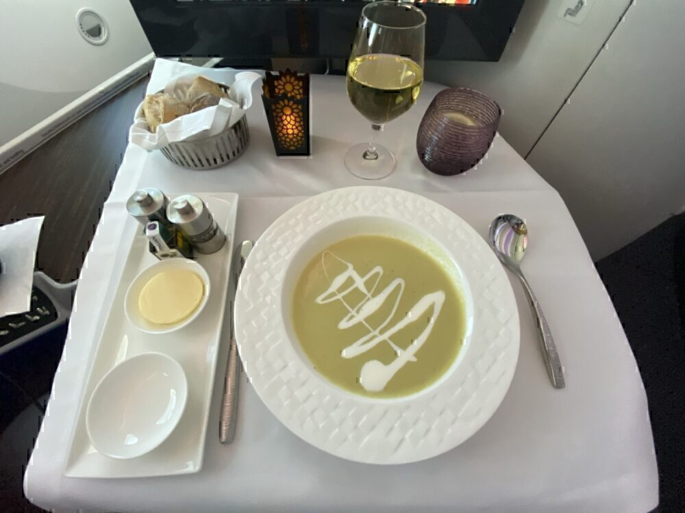 Airline Meal Qatar