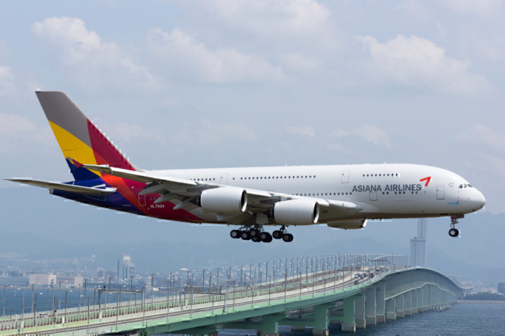 Asiana Airlines Plans Airbus A380 Flights To Nowhere