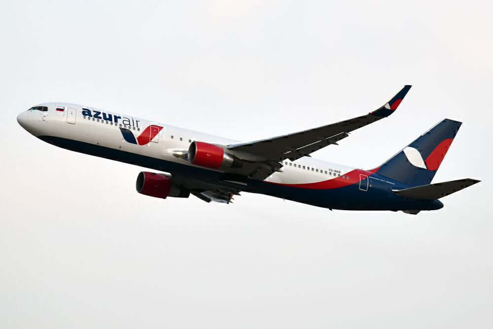 Azur Boeing 767 Suffers Tail Strike Landing In Moscow