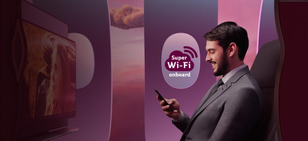 Qatar Airways Offering 100 Days Of Free Super WiFi Onboard - Simple Flying