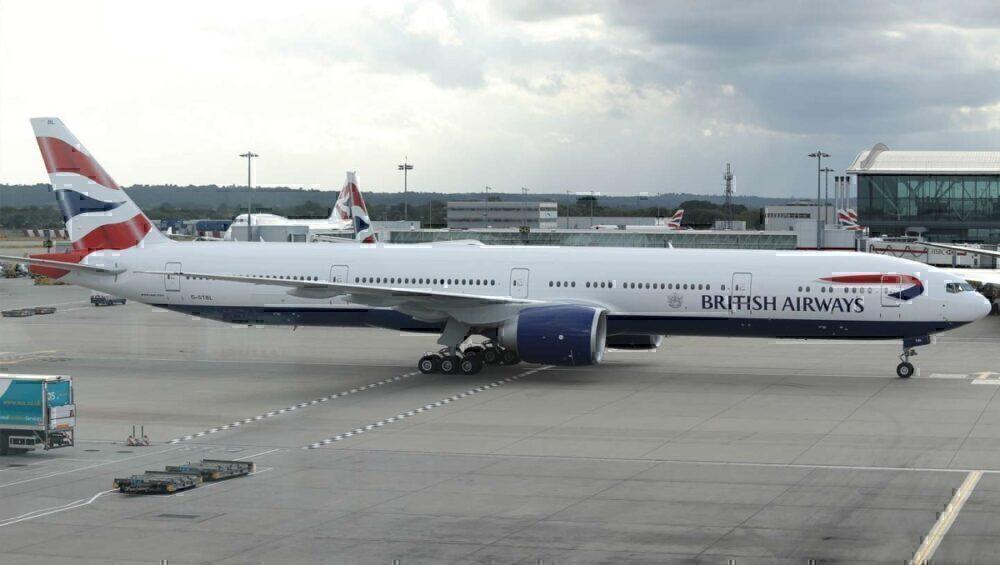 IAG Cargo British Airways 777-300
