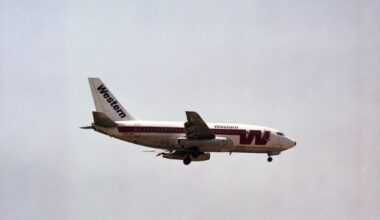 Western Airlines Plane