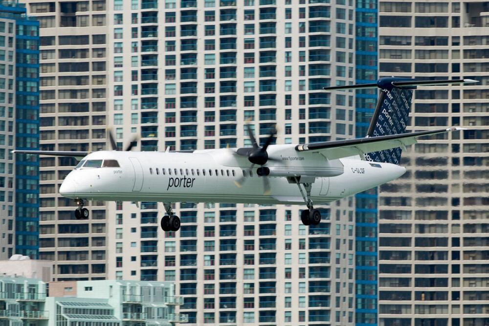 Porter Airlines Plane