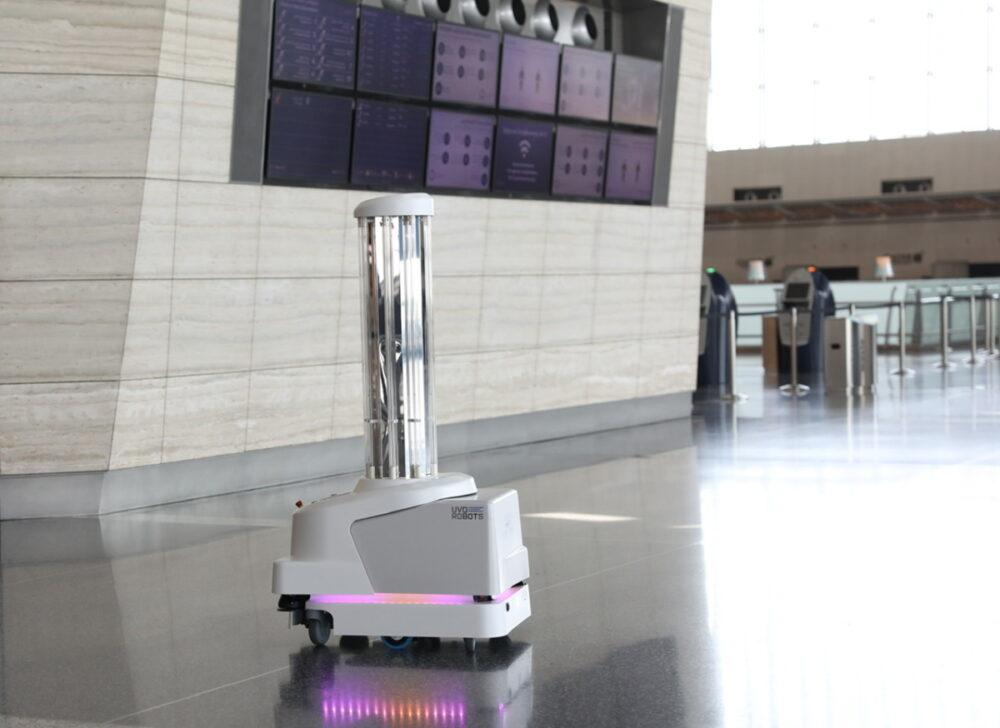 Hamad International Airport Robots