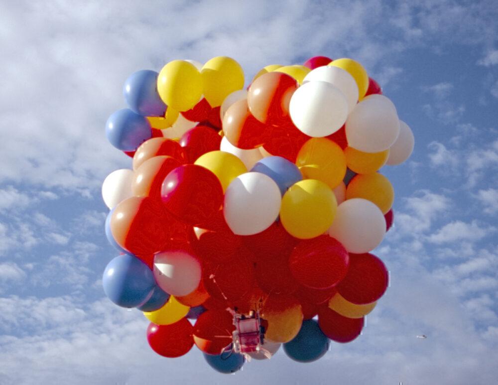 David Blaine, Balloon Flight, Arizona