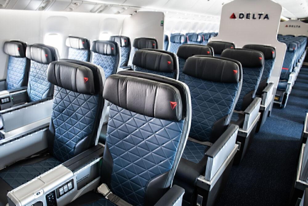 Delta Premium Select Cabin