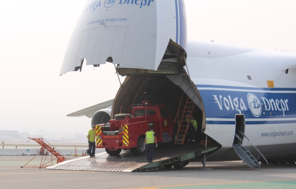 Volga Deneper Plane and Truck