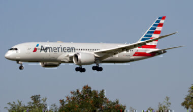 American Boeing 787 Getty