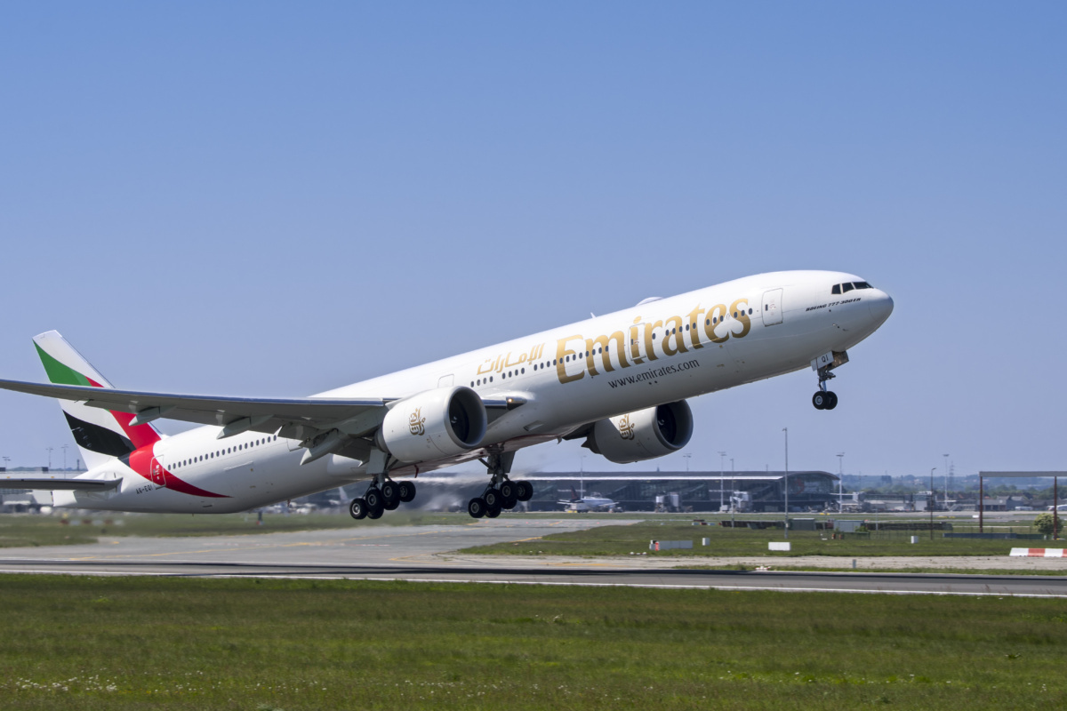 B777-300ER Emirates getty