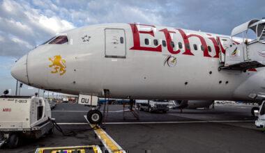 Ethiopian Airlines Boeing 787-8 Dreamliner Addis Ababa Bole International Airport Ethiopia