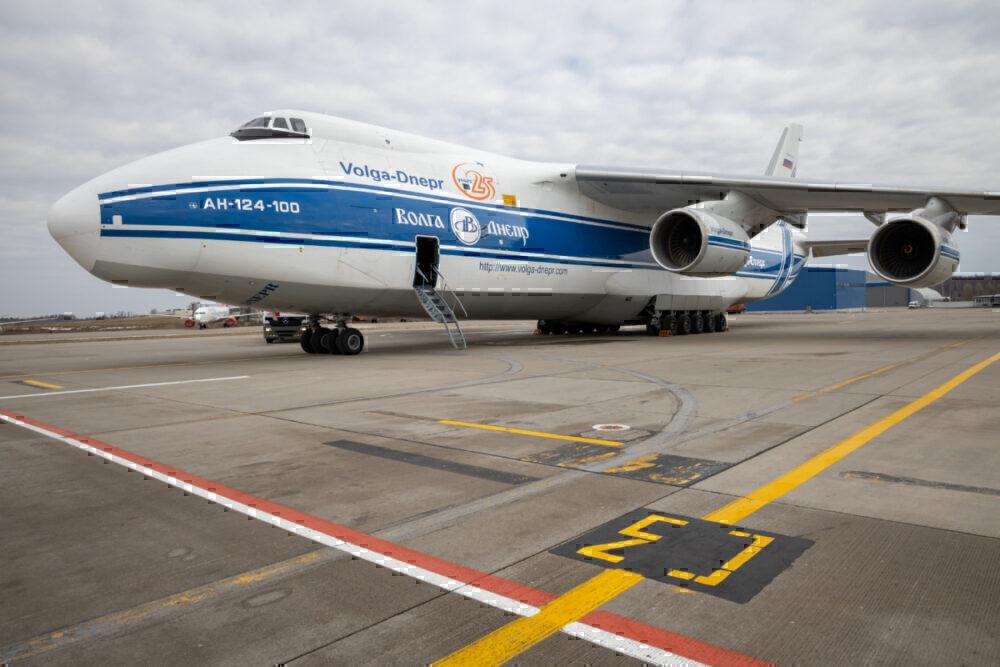 Volga-Dnepr An-124 Getty