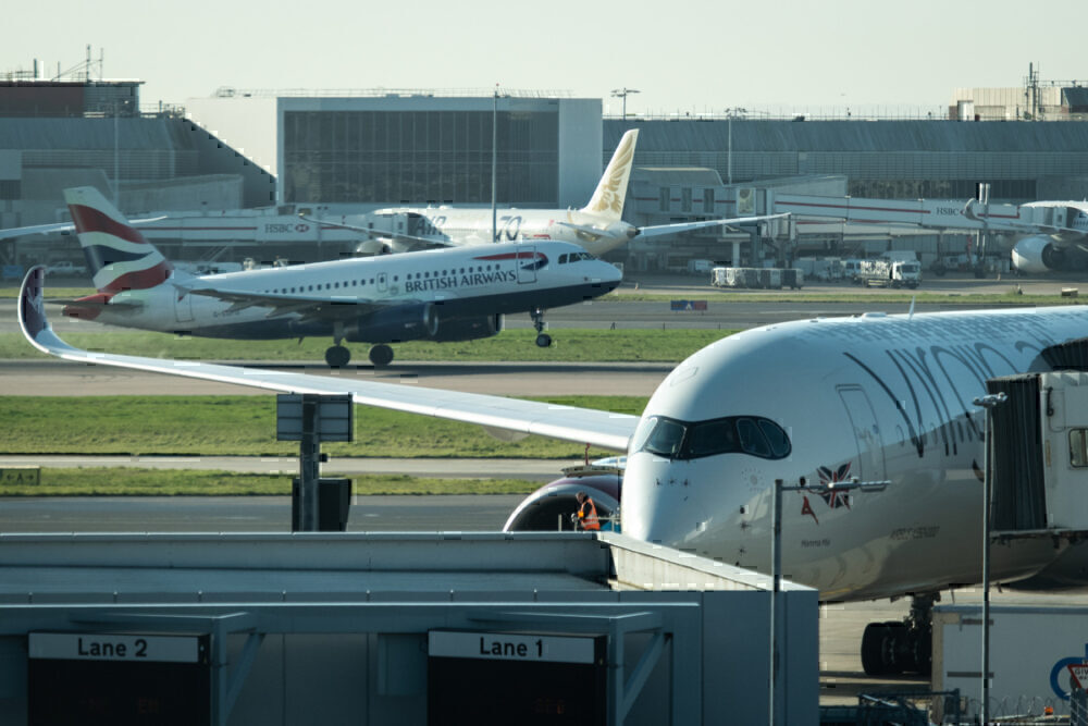 London Airports, Heathrow, Gatwick, Stansted, Luton, London City, Southend