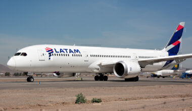 LATAM 787 Getty