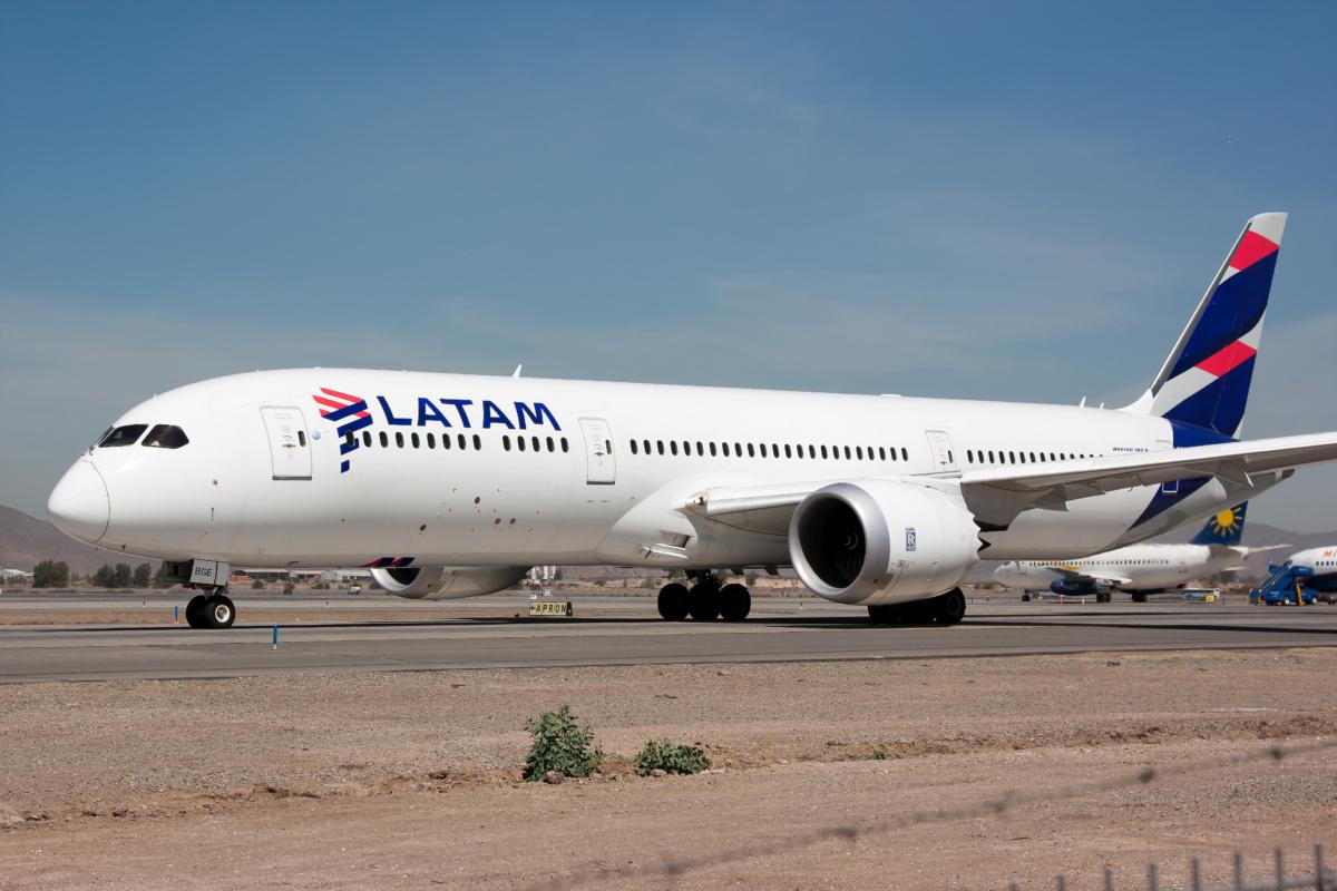 LATAM 787 Getty