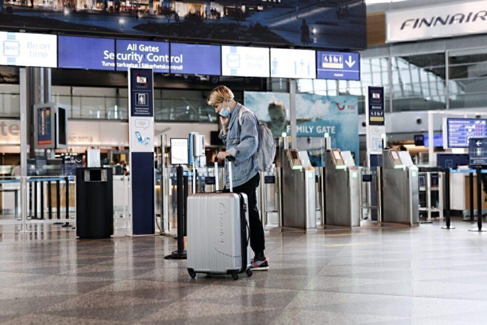Helsinki-Vantaa airport in Vantaa, Finland