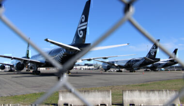 Air New Zealand, Boeing 777, Storage