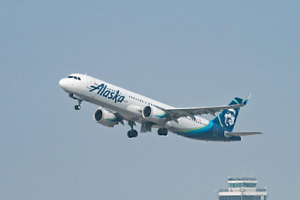 Alaska Airlines LAX Getty