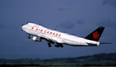 What happened to Air Canada's 747s