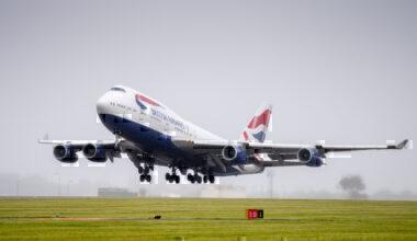 British Airways, Boeing 747, Rossiya